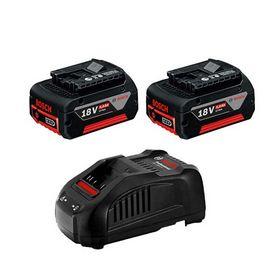 Bosch - Batterisæt 18V 2X5,0AH m/GAL1880CV lader