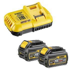 DeWALT - Batterisæt DCB118T2 FLEXVOLT XR 54V 6,0 Ah