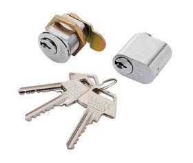 BASIXX - Postkassecyl. og oval sæt inkl. 3 nøgler