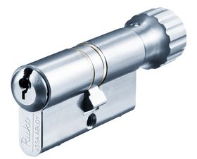 Assa Abloy - Profilcylinder RB1605 rsl +0c+0k m/lille knop