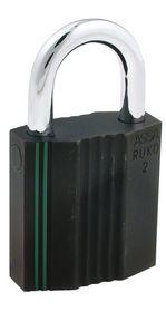 Assa Abloy - Hængelås RB2640 sort kl.2 Ø8mm bøjle