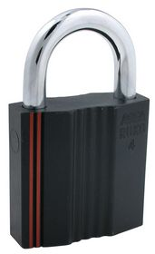 Assa Abloy - Hængelås RB4641 sort kl.4 Ø13mm bøjle