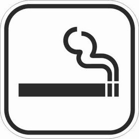 - Pictogram 120 rygning tilladt