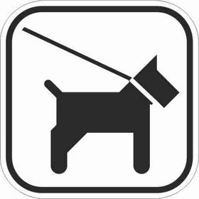 - Pictogram 124 hund i snor