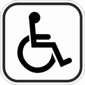 - Pictogram 307 handicappet