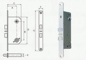 Assa Abloy - Låsekasse Connect 221-50 RS