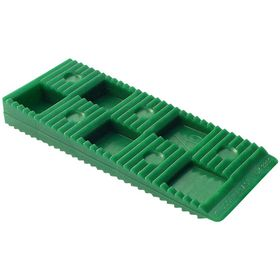 Knudsen kilen - Opklodsningskile grøn 80x30x10mm, á 1000 stk
