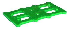 Harpun Fasteners - Justerbrikker Reglar 80x45x3mm grøn 500 stk