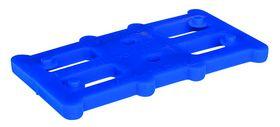 Harpun Fasteners - Justerbrikker Reglar 80x45x5mm blå 500 stk