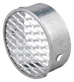 Duka - Ventilrist m/strækmetal Ø63mm