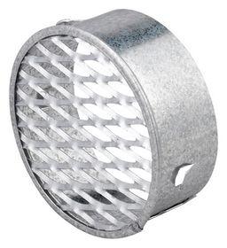 Duka - Ventilrist m/strækmetalnet Ø 125mm