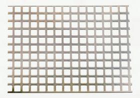 - Perforeret plade fzv firk huller 2000x1000x1,0mm