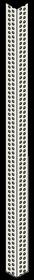 Knauf - Hjørneprofil, Perfekt, PVC, 2,5m