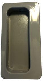 Normbau - Skydedørsskål grå
