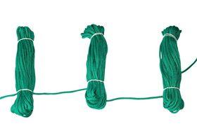 Roliba - Flisesnor grøn m/hjerte 4 mm 10m x 10 rul