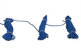 Roliba - Flisesnor blå m/hjerte 5 mm 10m x 10 rul