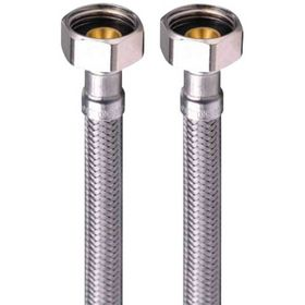 """Kombiflex - Tilslutningsslange 1/2""""x1/2"""" 25cm"""