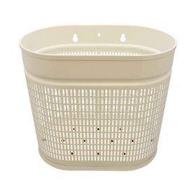 - Affaldskurv hvid oval 20 ltr