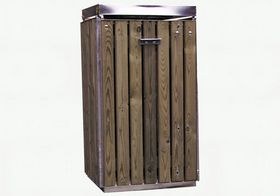 Brovst Blikvarefabrik - Affaldsstativ miljø træ B96