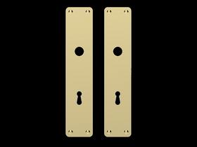 Classic Line - Langskilt Nøgle classic mess P3210.94CG