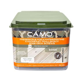 Camo - Terrasseskrue Camo C4 4,0x60mm m/2bit á 1750 stk