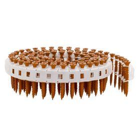 Tjep - Gipsskrue til stål/træ, orange 3,9x32mm bånd, pk. á 2000 stk
