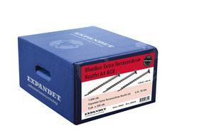 Expandet - Terrasseskrue Bluebox 4,3x56mm A4