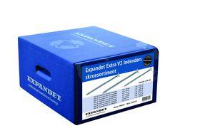 Expandet - Skruesortiment Bluebox Extra V2 indendørs