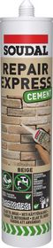 Soudal - Fugemasse, Cement Repair Express, Beige,  300ml