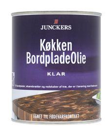 Junckers - Køkkenbordpladeolie klar