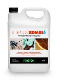 Protox - Træbeskyttelsesmiddel, Kombi - 5L