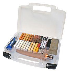 Mohawk - Professionel kuffert m/40 stk hård-voks, M310-9990
