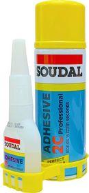 Soudal - Sekundlim m/aktivator, Prof, Adhesive 2C