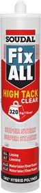 Soudal - Fix All, High Tack, Clear, 290ml