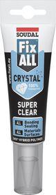 Soudal - Fix All, Crystal, 125ml