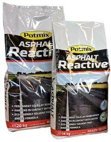 Potmix - Kold asfalt, Reactive, 20 kg
