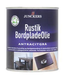 Junckers - Bordpladeolie Rustik Antracitgrå 0,75 ltr