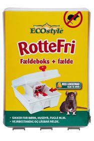 ECOstyle - RotteFri Fældeboks inkl. fælde