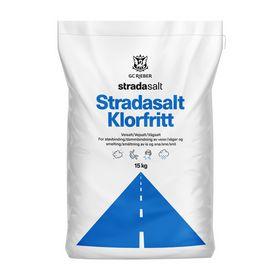 Strada - Vejsalt Klorfritt 15 kg pose, 1 palle