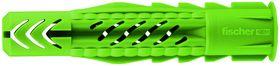 Fischer - Plugs GREEN med universal krave