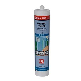 Dana Lim - Acrylfugemasse Mester 502 hvid, 300 ml
