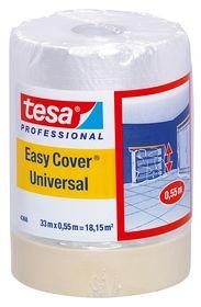 Tesa - Afdækningsplast m/tape 17m x 2,6m
