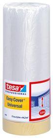 tesa - Afdækningsplast m/tape 33m x 55cm