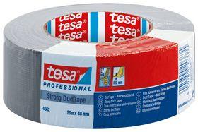 tesa - Lærredstape, gaffa, grå 48mmx50m