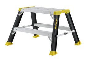 Wibe Ladders - Arbejdsbuk 5500+.  50 cm. 2 trin