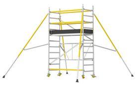 Wibe Ladders - Håndværkerstillads Foldbart FT 750 1,8 m.