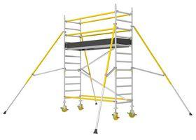 Wibe Ladders - Rullestillads RT 750 2,2m 75x250 cm