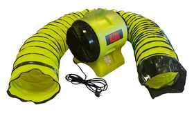 KGK - Ventilator Tyfon 3000 m/slange 7,6 mtr