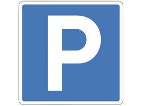 """- Oplysningstavle E33.1 """"parkering"""""""