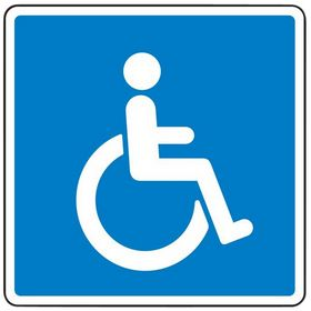 "- Oplysningstavle E23.1H""invalide H"""